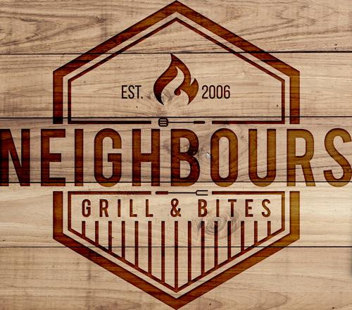 Neighbours logo gebrand